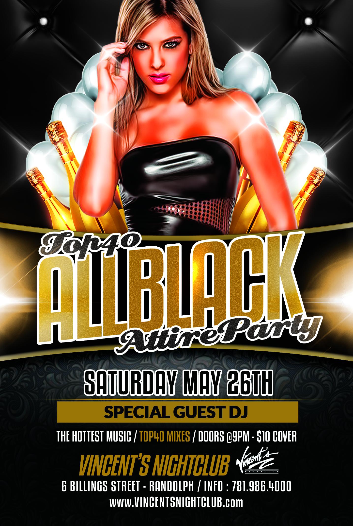 VINCENTS SATURDAY BLACK PARTY1 copy